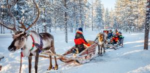 Kelionė Laplandija