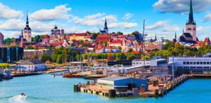 Kelionė Estijos salų grožis ir senasis Talinas 3d.