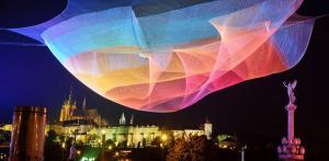 Kelionė Šviesos festivalis Prahoje