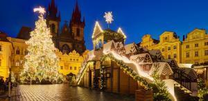 Kelionė Praha - Viena - Budapeštas (Naujametinė)