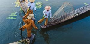 Kelionė Neatrastas Mianmaras su poilsiu Ngapalyje