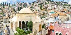 Kelionė Getsemanės sodo alyvuogės