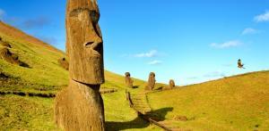 Kelionė Čilė ir paslaptingoji Velykų sala