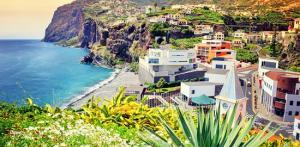 Kelionė Madeira: iškyla ant uolų