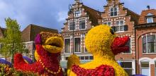 Kelionė Jurginų skulptūrų paradas Olandijoje