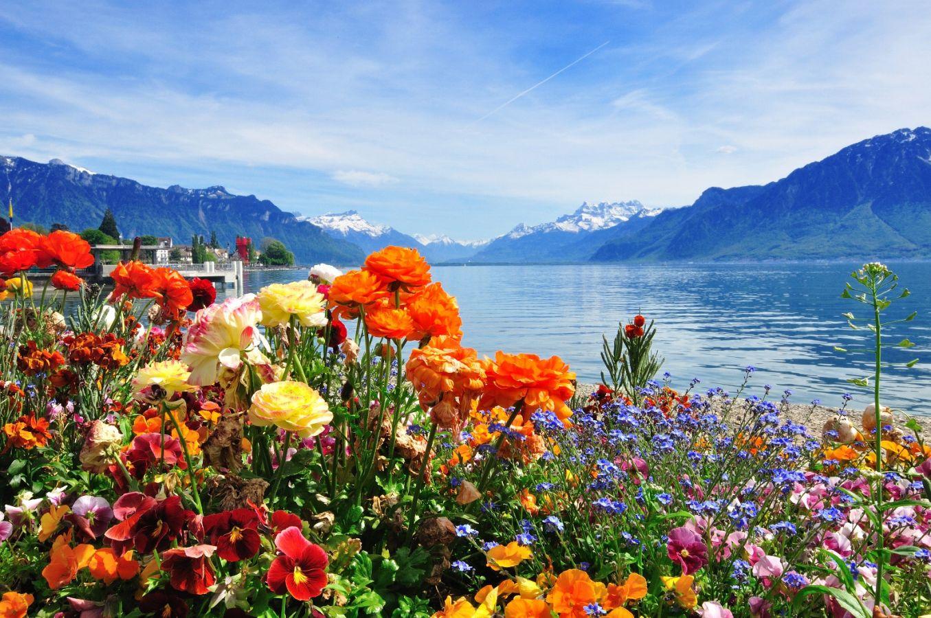 Šveicarija - Monblanas - Šiaurės Italijos ežerai