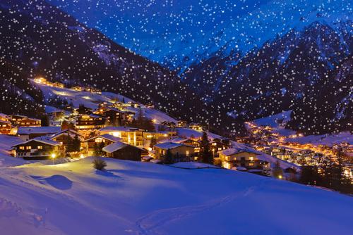 Zalcburgas ir Austrijos Alpės (Naujametinė)