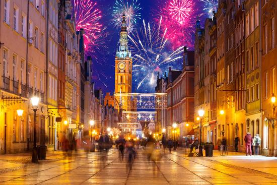 Naujieji metai žaviame Lenkijos pajūrio mieste - Gdanske (2 dienos)