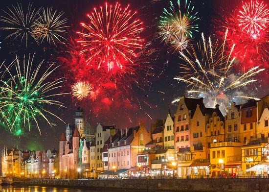 Naujieji metai Gdanske 2d.
