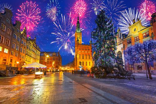 Naujametinis Gdanskas