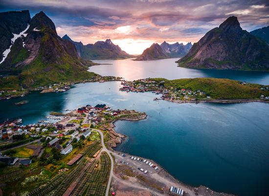Lufutenų salų magija (Suomija, Švedija, Norvegija) 13d.