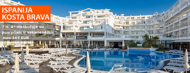 Smagios atostogos ISPANIJOJE: pramogos, SPA ir saulėtas paplūdimys! Savaitė labai gerame 4* viešbutyje su pusryčiais ir vakarienėmis – nuo 386 EUR! Kelionės data: 2017 m. spalio 7 d.