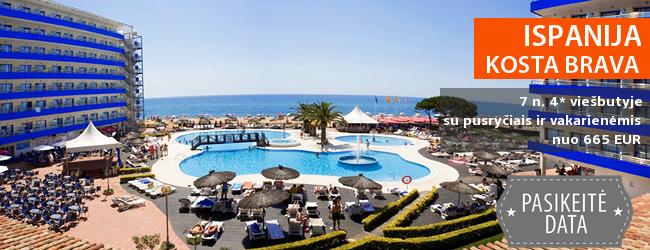 Saulėtas poilsis ant jūros kranto ISPANIJOJE! Savaitė gerame 4* viešbutyje su pusryčiais ir vakarienėmis – tik nuo 559 EUR! Kelionės data: 2018 m. gegužės 19 d.