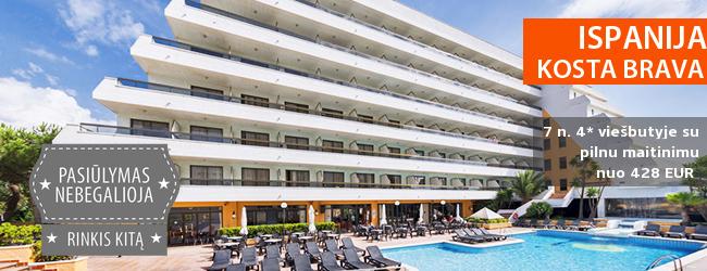 Saulėtos atostogos Ispanijoje mėgaujantis pakrantės panorama ir vietine virtuve! Savaitė 4* viešbutyje šalia paplūdimio su pilnu maitinimu - tik nuo 347 EUR! Kelionės data: 2017 m. gegužės 23 d.