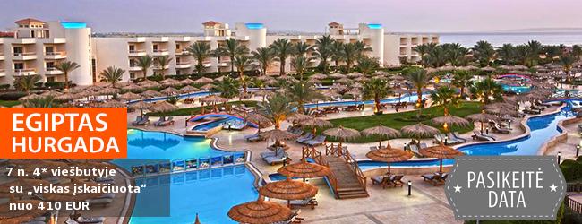 """Atostogoms rinkitės šilumos ir komforto oazę! Savaitė labai gerame 4* viešbutyje su """"viskas įskaičiuota"""" - tik nuo 436 EUR. Kelionės data: 2017 m. gruodžio 9 d."""