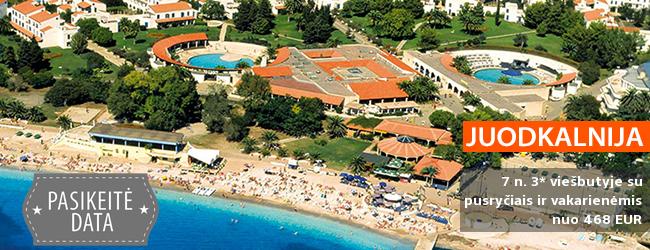 Vaizdingos atostogos ant jūros kranto JUODKALNIJOJE! Savaitė erdviame 4* viešbutyje su pusryčiais ir vakarienėmis - nuo 443 EUR! Kelionės data: 2018 m. gegužės 21 d.
