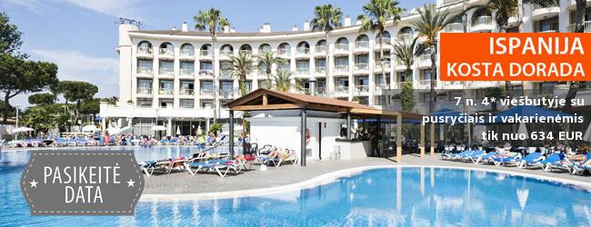 Poilsis viename geriausių viešbučių ISPANIJOS kurorte! Savaitė kokybiškame 4* viešbutyje su pusryčiais, pietumis ir vakarienėmis - vos nuo 402 EUR! Kelionės data: 2017 m. gegužės 13 d.