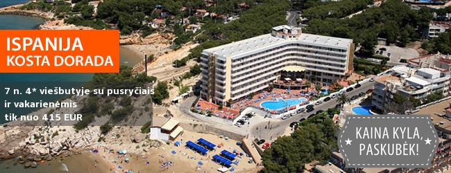 Ilgai lauktos atostogos prie jūros ISPANIJOJE! Savaitė gerai vertinamame 4* viešbutyje su pilnu maitinimu - vos nuo 398 EUR! Kelionės data: 2017 m. rugsėjo 17 d.