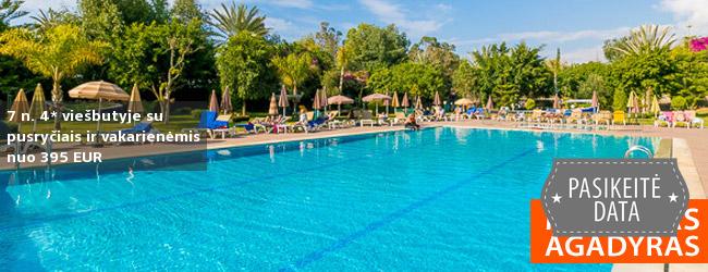 Egzotiškas poilsis MAROKE, Agadyro kurorto centre! Savaitė puikioje vietoje šalia paplūdimio įsikūrusiame 4* viešbutyje su pusryčiais ir vakarienėmis - tik nuo 643 EUR! Kelionės data: 2019 m. vasario 28 d.