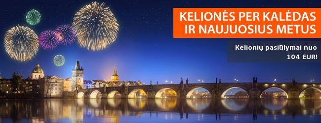 Kelionės per Kalėdas ir Naujuosius metus! Egzotinės, pažintinės ir poilsinės kelionės! Pasiūlymai nuo 85 EUR!