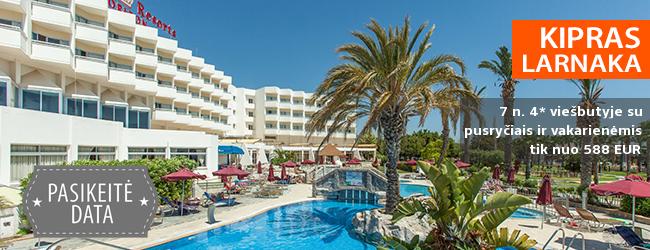 Mėgaukitės saulėtu oru KIPRE! Savaitė labai gerame 4* viešbutyje Crown Resorts Horizon su pusryčiais ir vakarienėmis - tik nuo 396 EUR! Kelionės data: 2018 m. birželio 21 d.