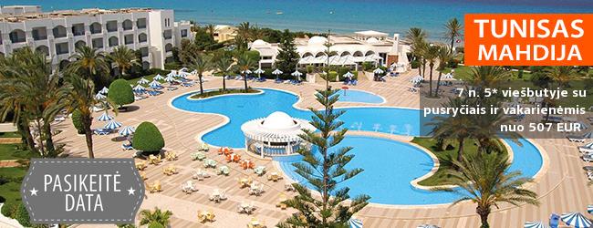 Puikus poilsis TUNISE! Praleiskite savaitę prie jūros, labai gerai vertinamame 4* viešbutyje su pusryčiais ir vakarienėmis -  tik nuo 422 EUR. Kelionės data: 2018 m. liepos 2 d.
