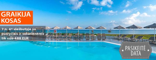 Nepamirštamas poilsis KOSO saloje! Savaitės atostogos ant jūros kranto įsikūrusiame 4* viešbutyje su pusryčiais ir vakarienėmis – tik nuo 427 EUR! Kelionės data: 2019 m. liepos 29 d.