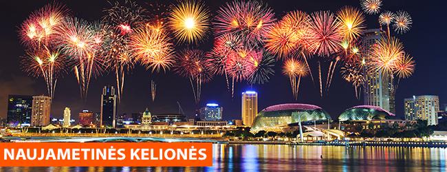 Trūksta idėjų, kur sutikti 2019 metus? Šiemet Naujuosius atšvęskite kitaip – pasinaudokite NAUJAMETINIŲ poilsinių ir egzotinių kelionių pasiūlymais!