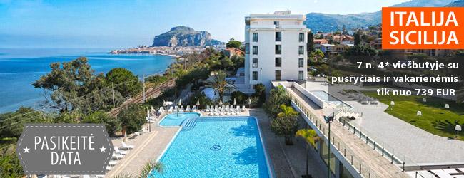 Saulėtos atostogos prie Viduržemio jūros SICILIJOJE! 7 n. 4* viešbutyje SANTA LUCIA E LE SABBIE D'ORO su pusryčiais ir vakarienėmis – tik nuo 379 EUR! Kelionės data: 2019 m. gegužės 5 d.