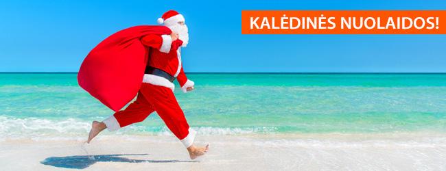 KALĖDINĖS NUOLAIDOS! Egzotinės ir pažintinės kelionės pigiau – tik iki 12.31