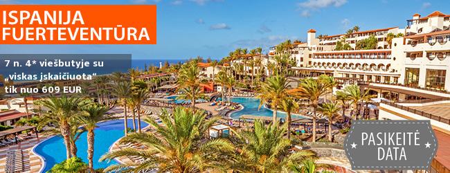 """Atpalaiduojančios atostogos Kanaruose, FUERTEVENTŪROJE! Savaitė 4* viešbutyje OCCIDENTAL JANDIA MAR su """"viskas įskaičiuota"""" – nuo 479 EUR! Kelionės data: 2019 m. sausio 7 d."""