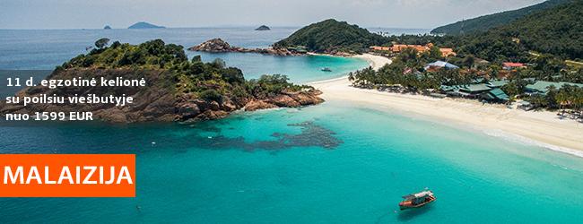 Egzotiškų atostogų idėja: pažintis su Kvala Lumpūru bei poilsis REDANGO saloje! 12 d. egzotinė kelionė į MALAIZIJĄ – – 1599 EUR! Į kainą įskaičiuoti skrydžiai! Išvykimas: 2019 m. gegužės 27 d.