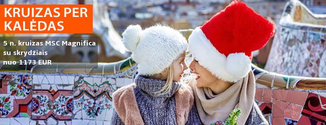 Sutikite šv. Kalėdas kruiziniame laive! 6 dienų kruizas VIDURŽEMIO jūra, kajutė su balkonu ir skrydžiai bei pervežimai - nuo 1173 EUR! Kelionės data: 2019 m. gruodžio 23 d.