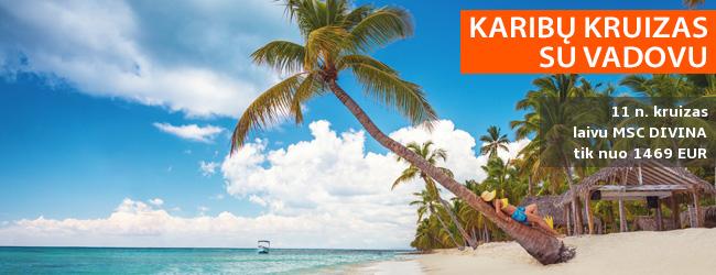 12 dienų kelionė KRUIZU MSC Divina KARIBUOSE, aplankant Jamaiką, Panamą, Kostą Riką, Hondūrą ir Meksiką (su lietuviškai kalbančiu vadovu). Tik – nuo 1469 EUR! Papildomai kainuos skrydžiai! Išvykimas: 2020 m. sausio 16 d.