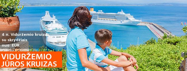 Poilsiui per moksleivių rudens atostogas arba trumpoms atostogoms kruizas Costa Magica laivu ir pažintis Milane su pervežimais bei skrydžiai – nuo  EUR! Išvykimas: 2019 m. spalio 27 d.