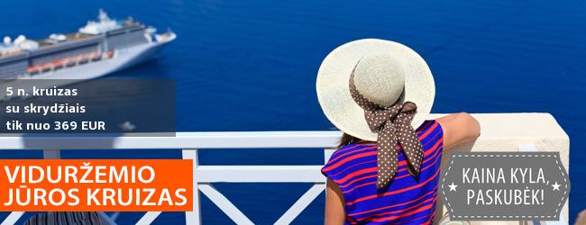 Kruizas už super kainą! Aplankykite Italiją, Juodkalniją, Kroatiją vienos kelionės metu – nuo 379 EUR! Išvykimas: 2020 m. balandžio 21 d.