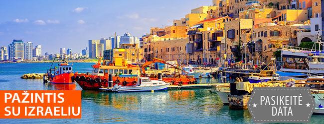 Speciali kaina pažintinei kelionei Izraelyje su poilsiu prie Viduržemio jūros - nuo 499 EUR ! Skrydis įskaičiuotas. Kelionės data: 2020 m. sausio 28 d.