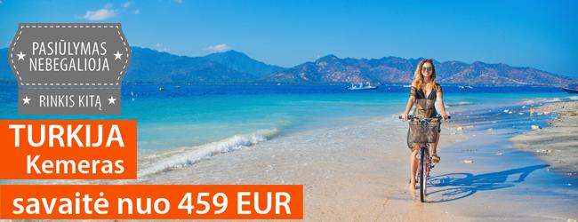 """Išskirtinis poilsis Turkijoje, Kemere. Savaitė 4* viešbutyje su """"viskas įskaičiuota"""" nuo 459 EUR. Atostogaukite rugpjūčio-rugsėjo mėnesiais!"""