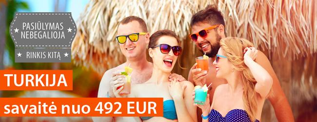 """Išsvajotos atostogos Marmaryje, Turkijoje. Savaitė prabangiame 5* viešbutyje su """"viskas įskaičiuota"""" nuo 492 EUR. Rugpjūčio-rugsėjo datos"""
