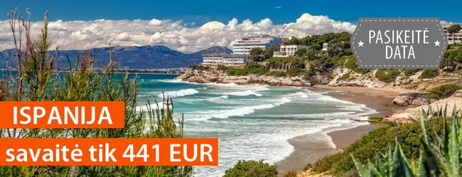 Žavingoji Kosta Dorada pakrantė Ispanijoje! Savaitė atostogų 4* viešbutyje su pusryčiais ir vakarienėmis tik 433 EUR. Išvykimas: rugsėjo 16 d.