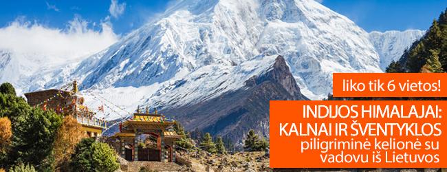Indijos Himalajai: kalnai ir šventyklos (piligriminė kelionė su vadovu iš Lietuvos). Rugsėjo 20 d. išvykimui liko tik 6 laisvos vietos!