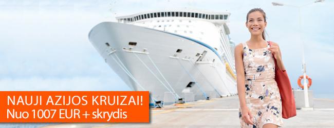 Naujos Azijos kruizų programos - aplankykite Singapūrą, Tailandą, Kiniją, Vietnamą, Malaiziją, Pietų Korėją plaukdami Diamond Princess laivu! Kaina nuo 1007 EUR + skrydis.