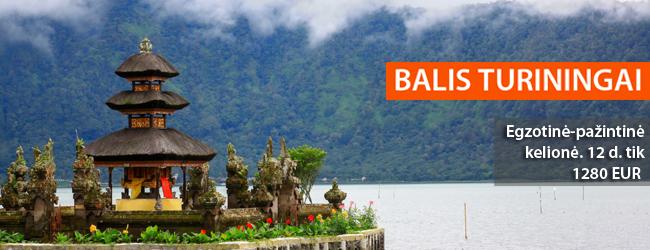 Turininga kelionė į Balio salą: pažinkite šalies kultūrą, apžiūrėkite senąsias šventyklas bei įspūdinga kraštovaizdį. 12 dienų tik 1280 EUR. Spalio-kovo datos