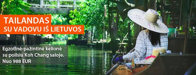 Idealus pasiūlymas pirmajai egzotinių kelionių patirčiai: pažintinė-poilsinė kelionė į Tailandą vos nuo 988 EUR. Spalio-kovo datos