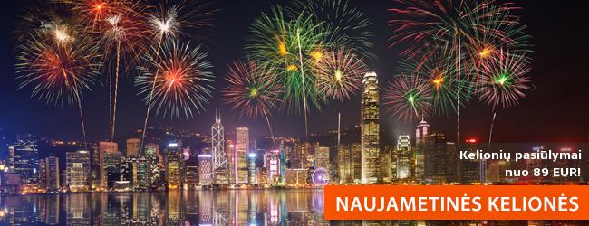 Sutikite Naujuosius metus keliaudami! Naujametinių kelionių pasiūlymai nuo 90 EUR!