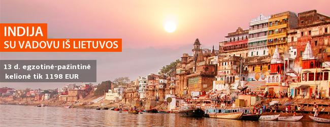 Išskirtinis pasiūlymas: pasitikite pavasarį paslaptingoje Indijoje, įsitraukę į Holi spalvų fiestos sūkurį! 13 dienų kelionė drauge su vadovu iš Lietuvos tik 1258 EUR (+ skrydis). Išvykimo data: kovo 7 d.