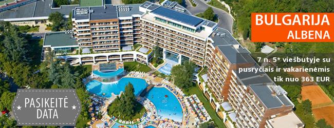 Pramogų kupinos atostogos BULGARIJOJE! Savaitės atostogos 5* viešbutyje FLAMINGO GRAND su pusryčiais ir vakarienėmis - tik nuo 374 EUR! Išvykimo data: 2018 m. rugsėjo 12 d.