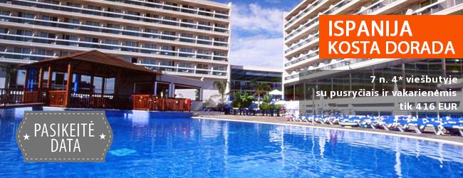 Smagiausios vasaros atostogos ISPANIJOS pakrantėje! Savaitė kokybiškame 4* viešbutyje puikioje vietoje su pusryčiais ir vakarienėmis - tik nuo 463 EUR! Kelionės data: 2017 m. birželio 2 d.