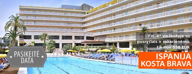 Dėmesio, paplūdimio mėgėjai! Savaitė su šeima gerame 4* viešbutyje ISPANIJOJE su pusryčiais ir vakarienėmis – tik nuo 390 EUR! Kelionės data: 2018 m. liepos 3 d.