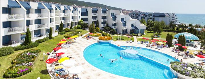Mėgaukitės puikiomis atostogomis prie jūros Saulėtame krante BULGARIJOJE! Savaitės poilsis jaukiame PRIMASOL SINEVA BEACH 4* viešbutyje.
